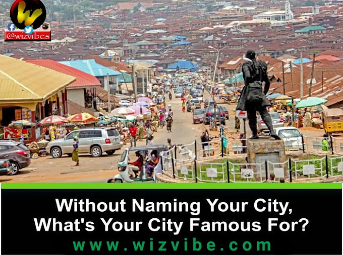REP YOUR CITY: Without Naming Your City, What's Your City Famous For?