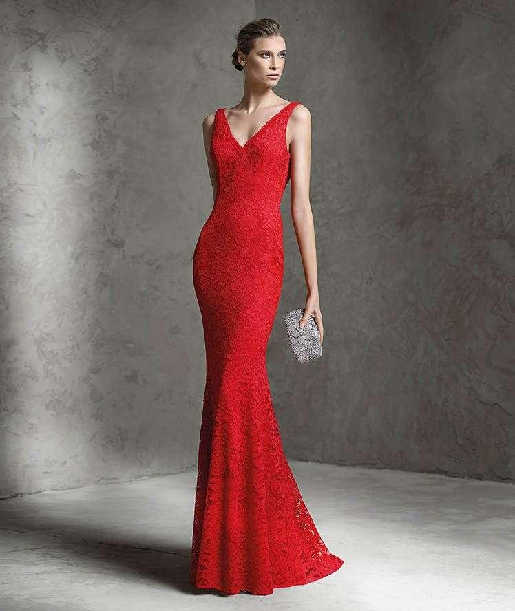 pretty nice 17021 1bc8e Vestiti rosso pizzo | Stile di vita, di bellezza, Carta da ...