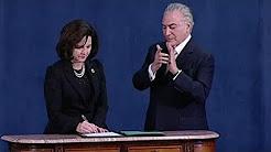 Raquel Dodge toma posse como Procuradora Geral da República (EuroNews-PT)