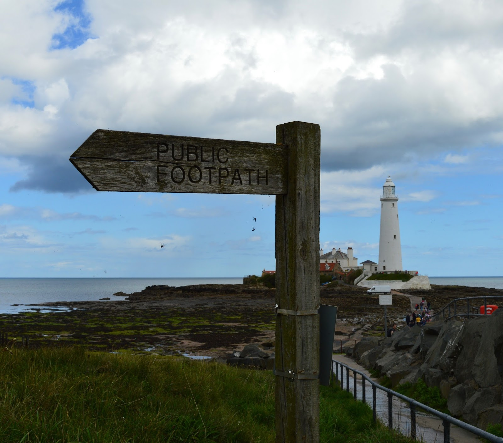 13 of the best pushchair-friendly walks around North East England as recommended by local parents - st mary's lighthouse