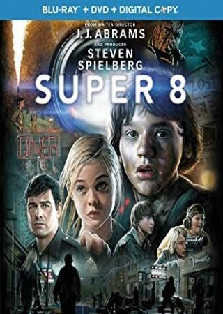 Poster Of Super 8 In Dual Audio Hindi English 300MB Compressed Small Size Pc Movie Free Download Only At worldfree4u.com