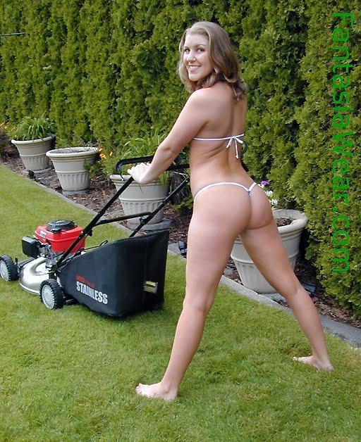 Back yard neighbors hot wife