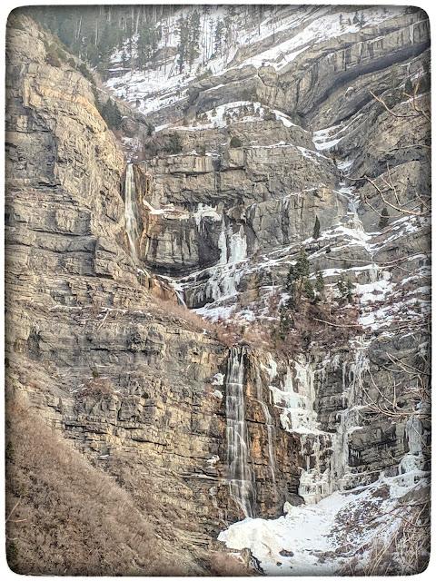 Bridal Veil Falls Cascade Mountains Provo Canyon Utah