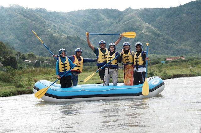 Rafting di Sungai Peusangan