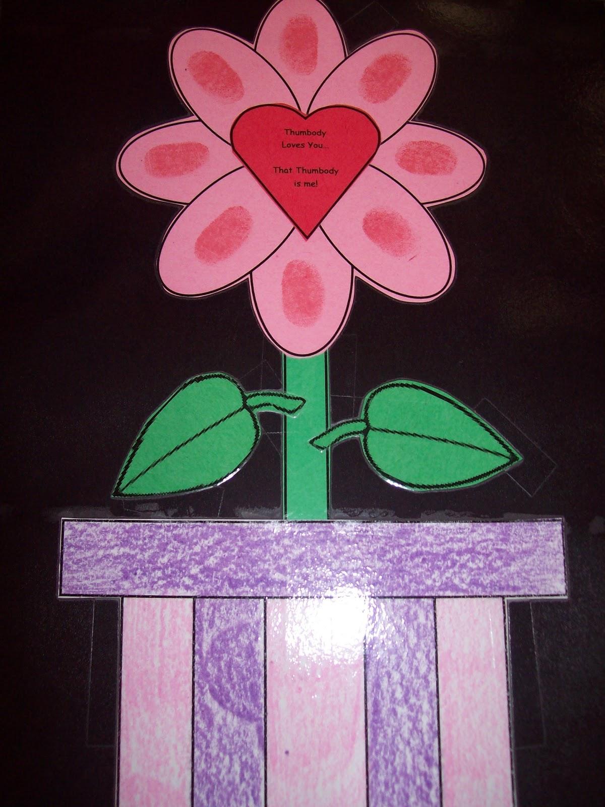 Preschool Crafts For Kids Valentine S Day Flower T Craft