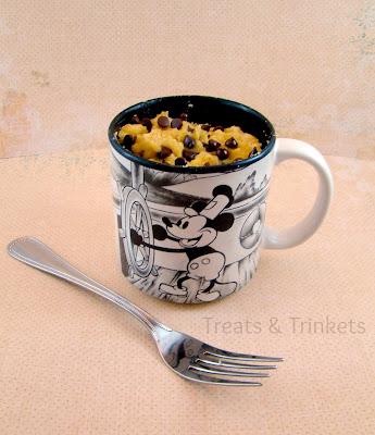 Coconut Flour Mug Cake Banana