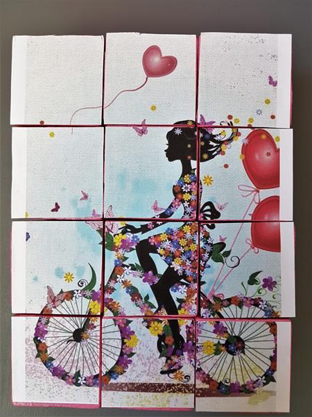 Geburtstag, Gutscheingeschenk, Geburtstagstorte, Puzzle