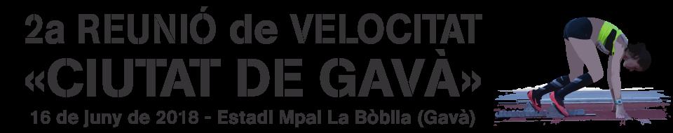 2a Reunió de Velocitat «Ciutat de Gavà»