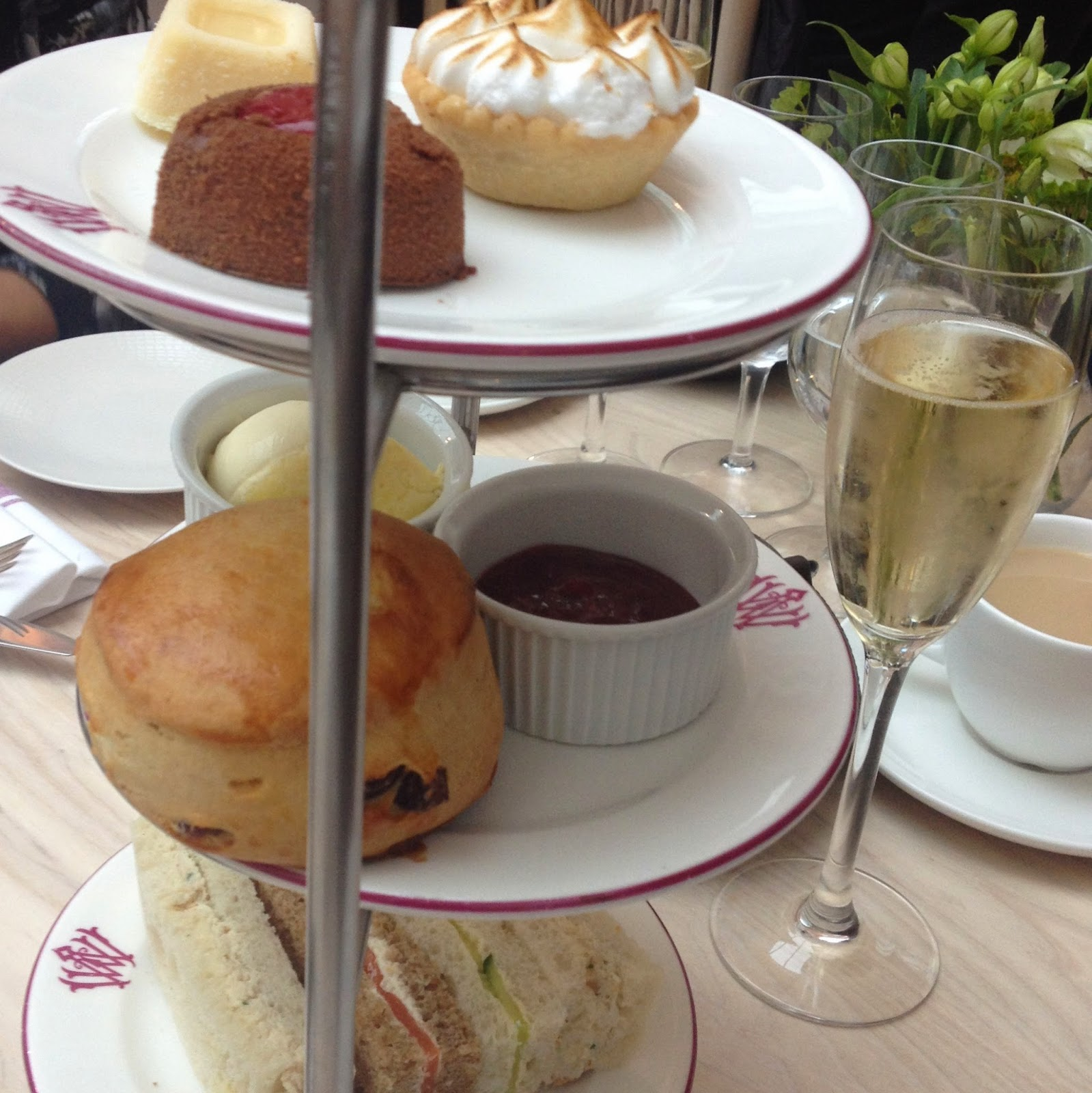 The Wallce Collection afternoon tea
