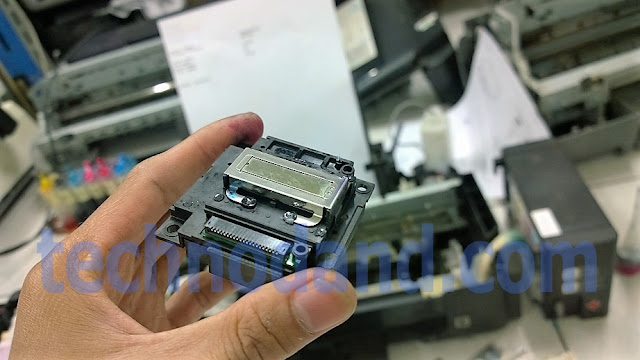 Printer Epson L110 L210 L300 L310 head mampet