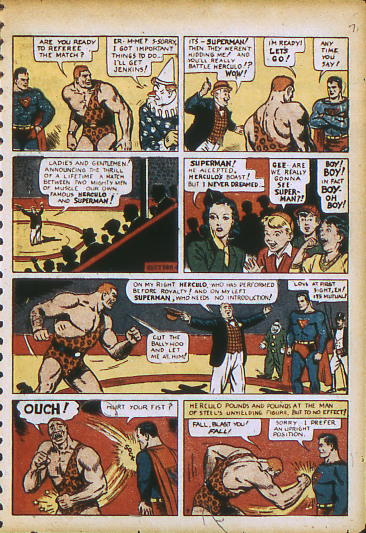 Read online Action Comics (1938) comic -  Issue #28 - 10
