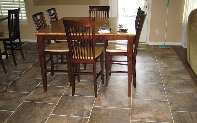 Tile floor in a kitchen looks great - keep it looking great with our cleaning tips.