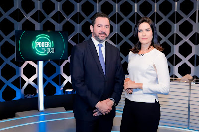 Dyogo Oliveira e Débora Bergamasco (Crédito: Gabriel Cardoso/SBT)