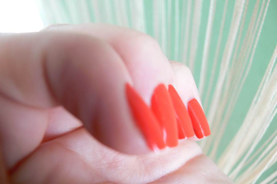 Avon Gel Finish Orange Crush efekt