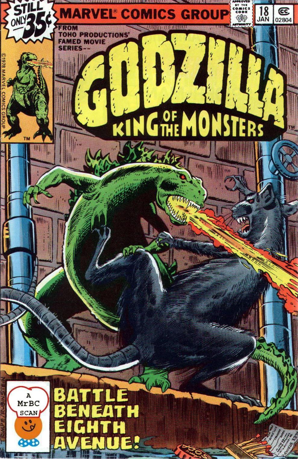 Godzilla (1977) issue 18 - Page 1