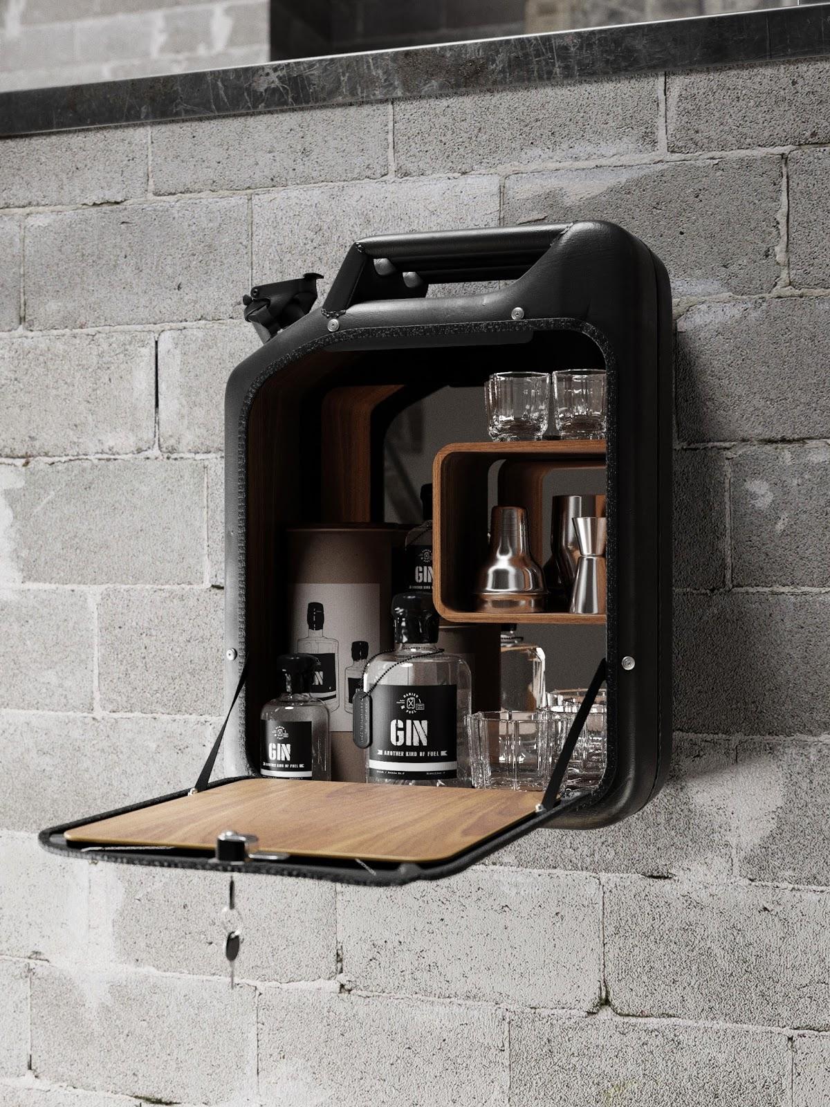 Wohndesign mal anders - Danish Fuel macht Designobjekte aus alten WW2 Benzinkanistern