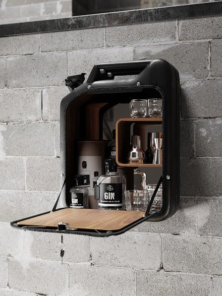 Wohndesign mal anders | Danish Fuel macht Designobjekte aus alten WW2 Benzinkanistern