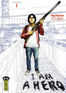 I am a hero tome 1 chez Kana