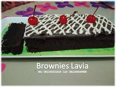 Brownies Black Beauty Lavia rasanya dijamin mbahe enak