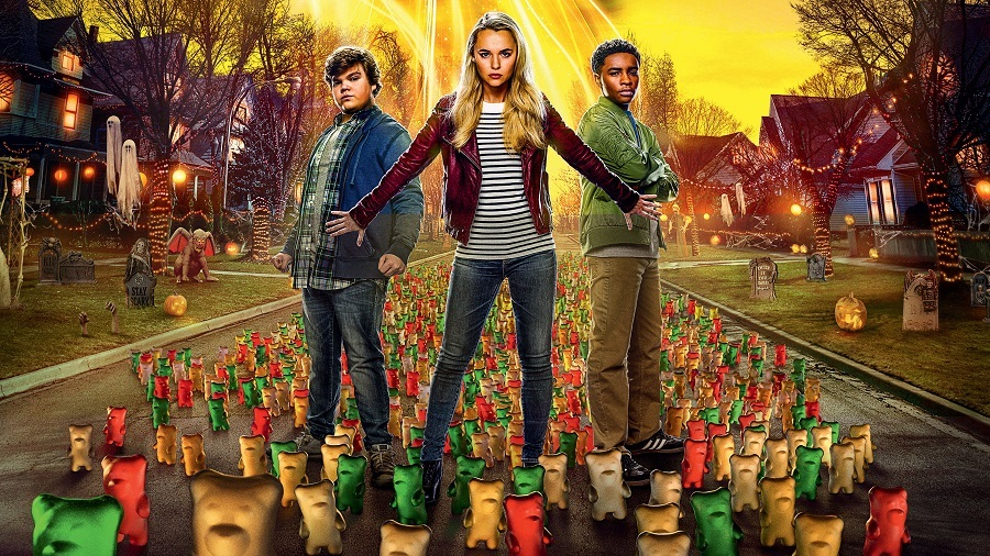 Filme Goosebumps 2 - Halloween Assombrado Dublado para download por torrent 1080p 720p