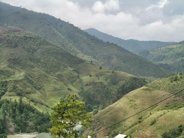 Mountain vistas in Constanza