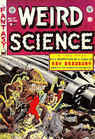 Weird Science v2 #17 ec science fiction comic book cover art by Wally Wood