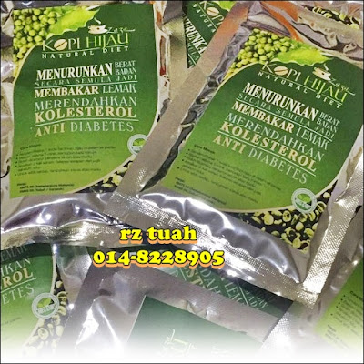 kopi hijau zaza natural diet