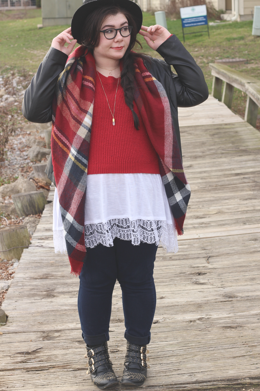 Merry and Bright, an outfit on katielikeme.com fashion, plus size, style