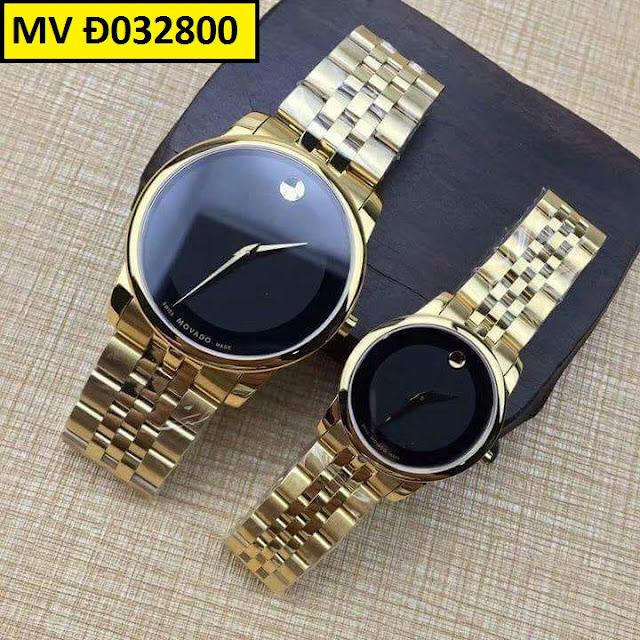 Đồng hồ cặp đôi Movado Đ032800