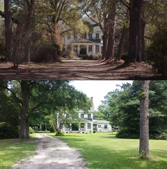 then amp now movie locations the conjuring