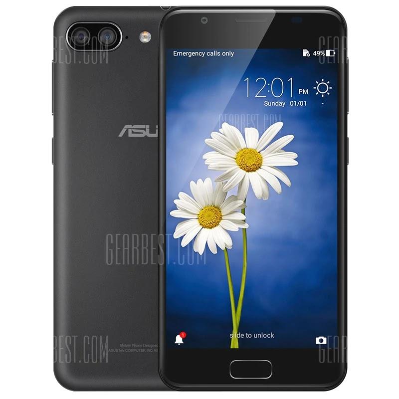 ASUS Zenfone 4 Max Plus 4G Phablet Fingerprint Sensor Coupon