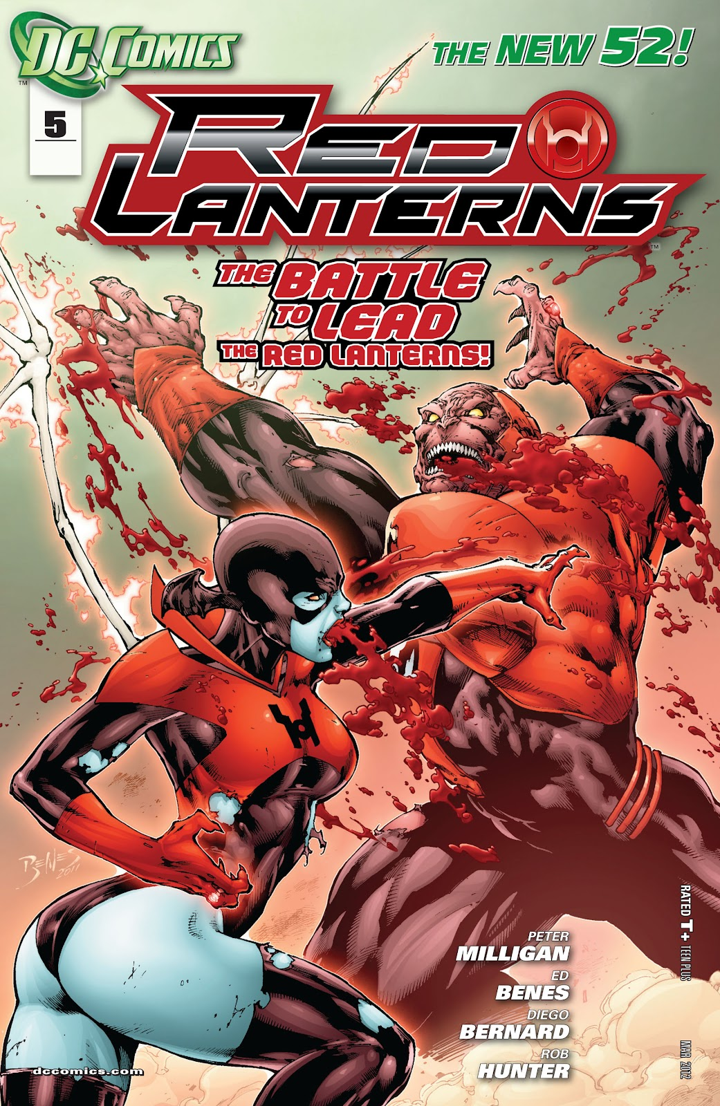 Red Lanterns issue 5 - Page 1