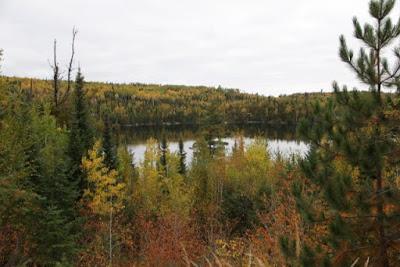 Birch Lake, Laurentian Divide