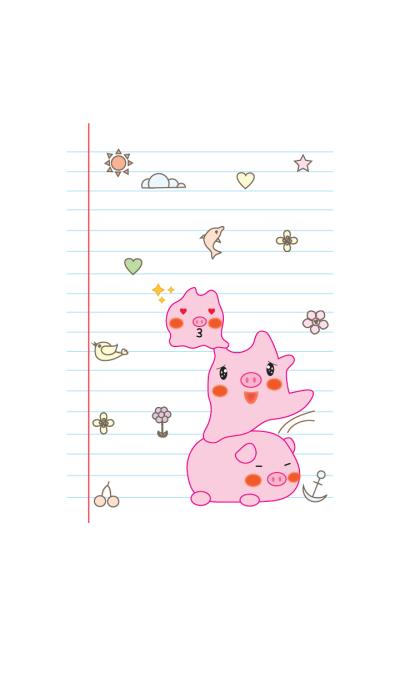 Cute Pig pig theme v.1