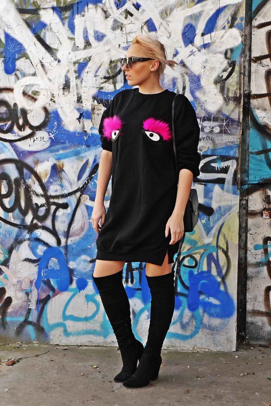czarna_dluga_bluza_sukienka_oczy_karyn_blog_modowy_090217