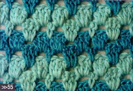 Patrón #1762: Punto Calado a Crochet