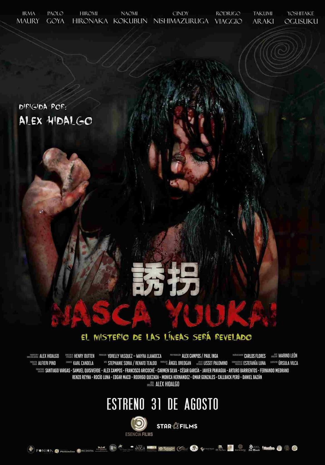 Nasca Yuukai Abducción (2017)