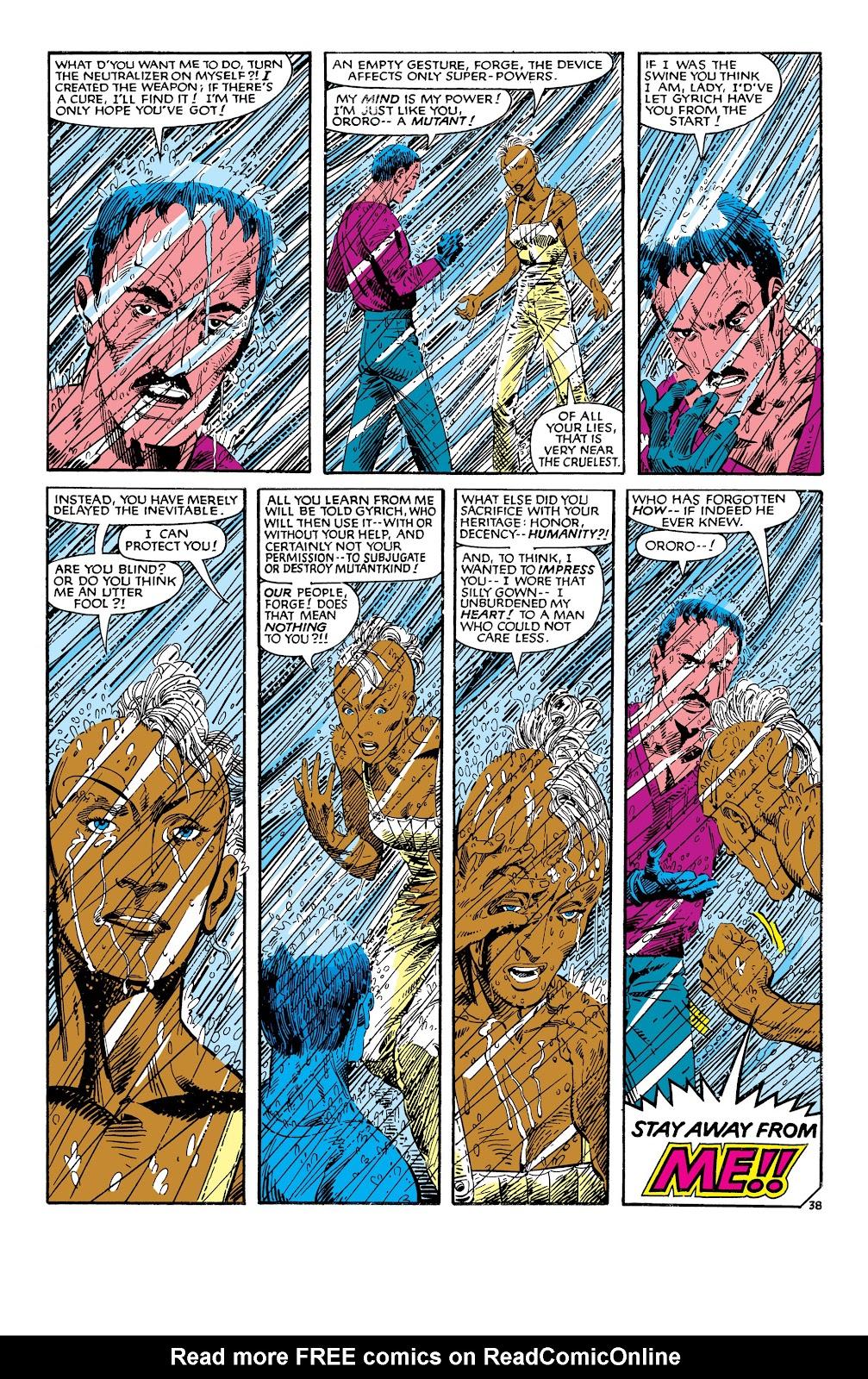 Uncanny X-Men (1963) issue 186 - Page 39