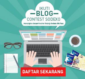 Lomba Blog Contest Sodexo