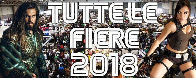 All nerd long tutte le fiere comics cosplay games 2018 for Fiera elettronica calendario 2016