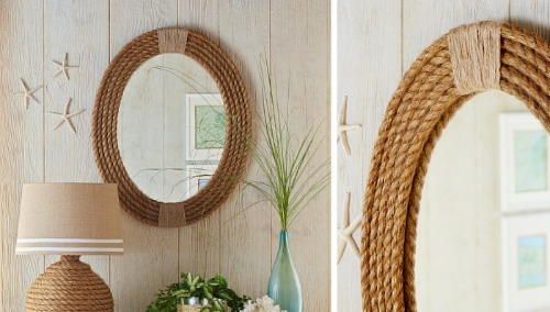 Rope Mirror Tutorial by Lowes