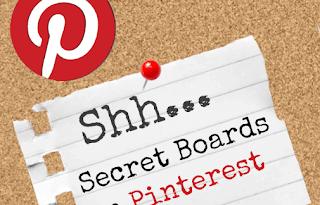 Pinterest secret boards