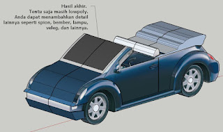 Tutorial Low Polygon Modeling Mobil
