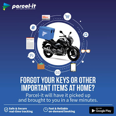 Want to make your life easier? Use Just Parcel-It