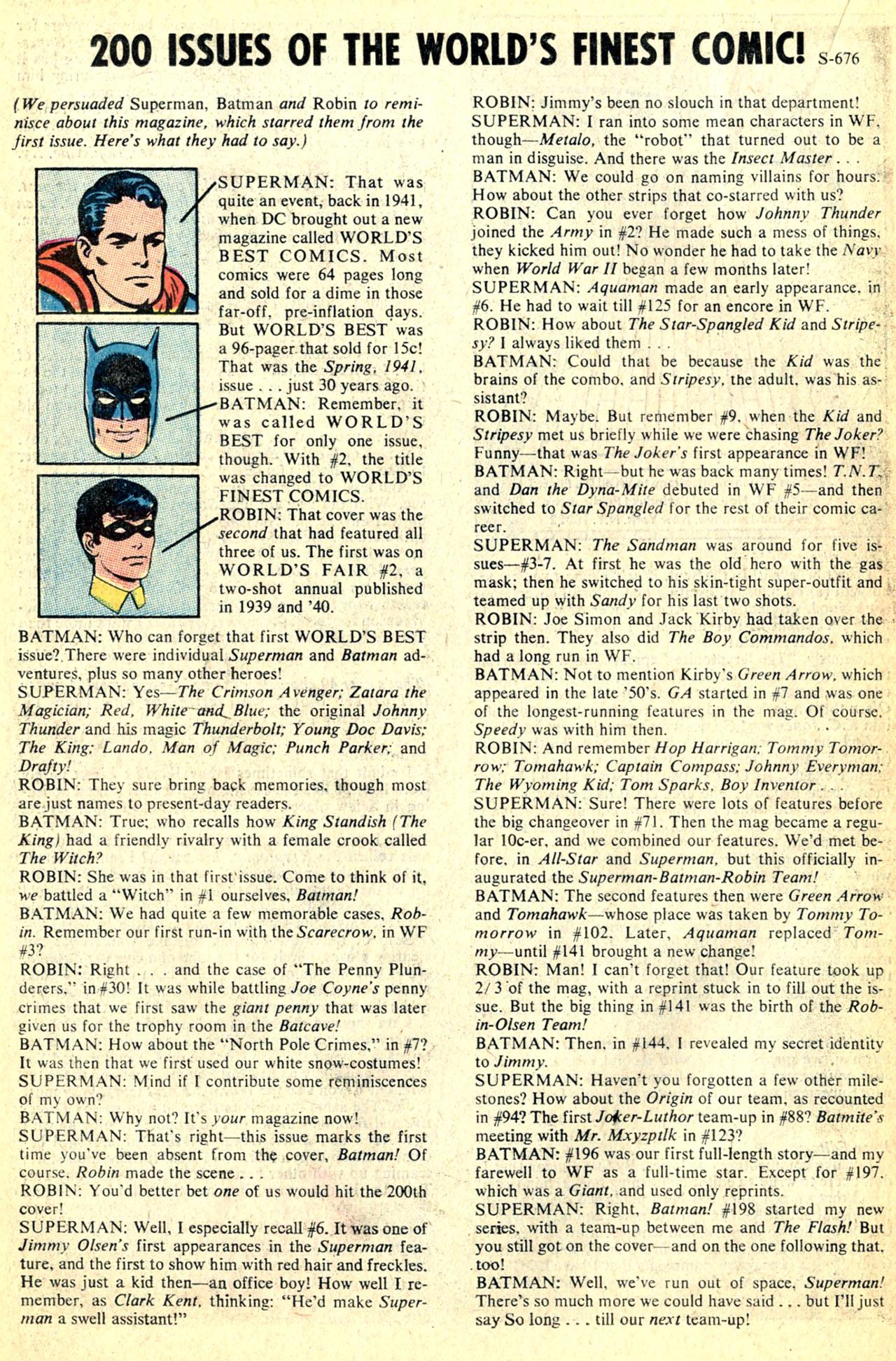 Read online World's Finest Comics comic -  Issue #200 - 22