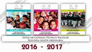 Guías de la Segunda Sesión Ordinaria de Consejo Técnico Escolar
