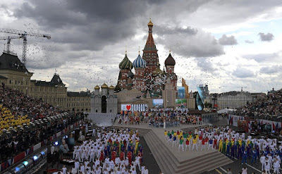 Gala concert marking the 870th anniversary of Moscow.
