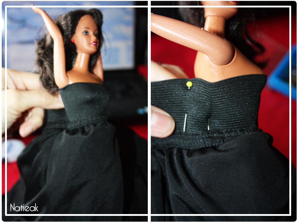 modèle vêtement barbie