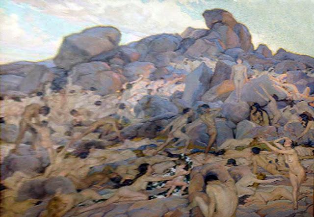 Francisco Pons Arnau, Humanidad, Pintor español, Pintor Valenciano, Pintura Valenciana, Impresionismo Valenciano