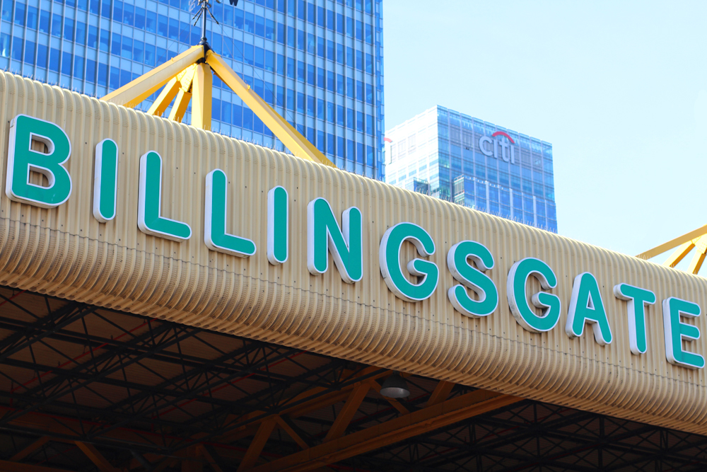 Billingsgate Market - London foodie blog